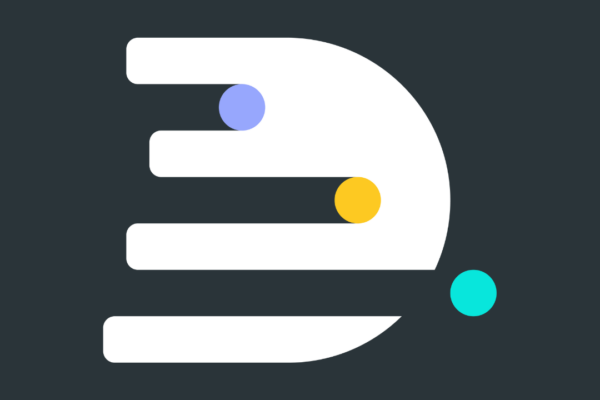 DR social logo