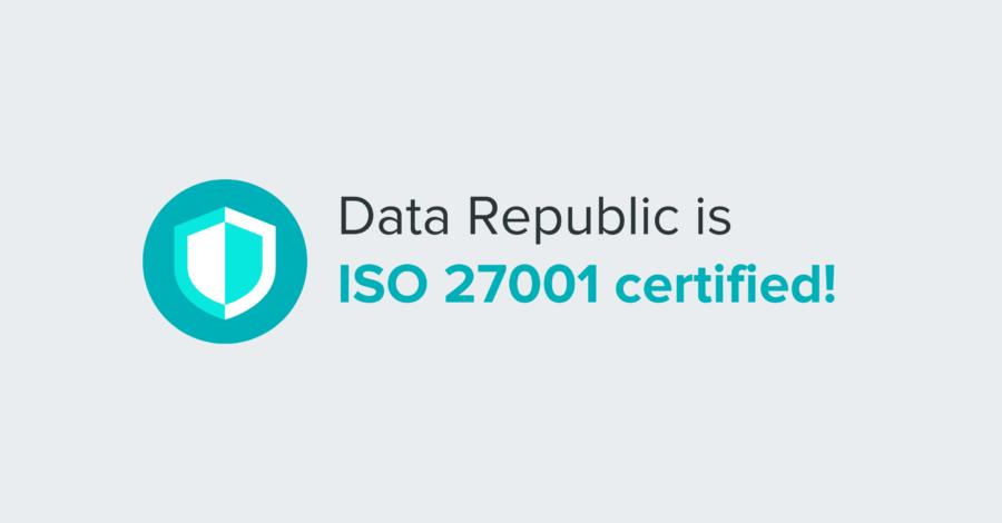 Data Republic ISO 27001-2013