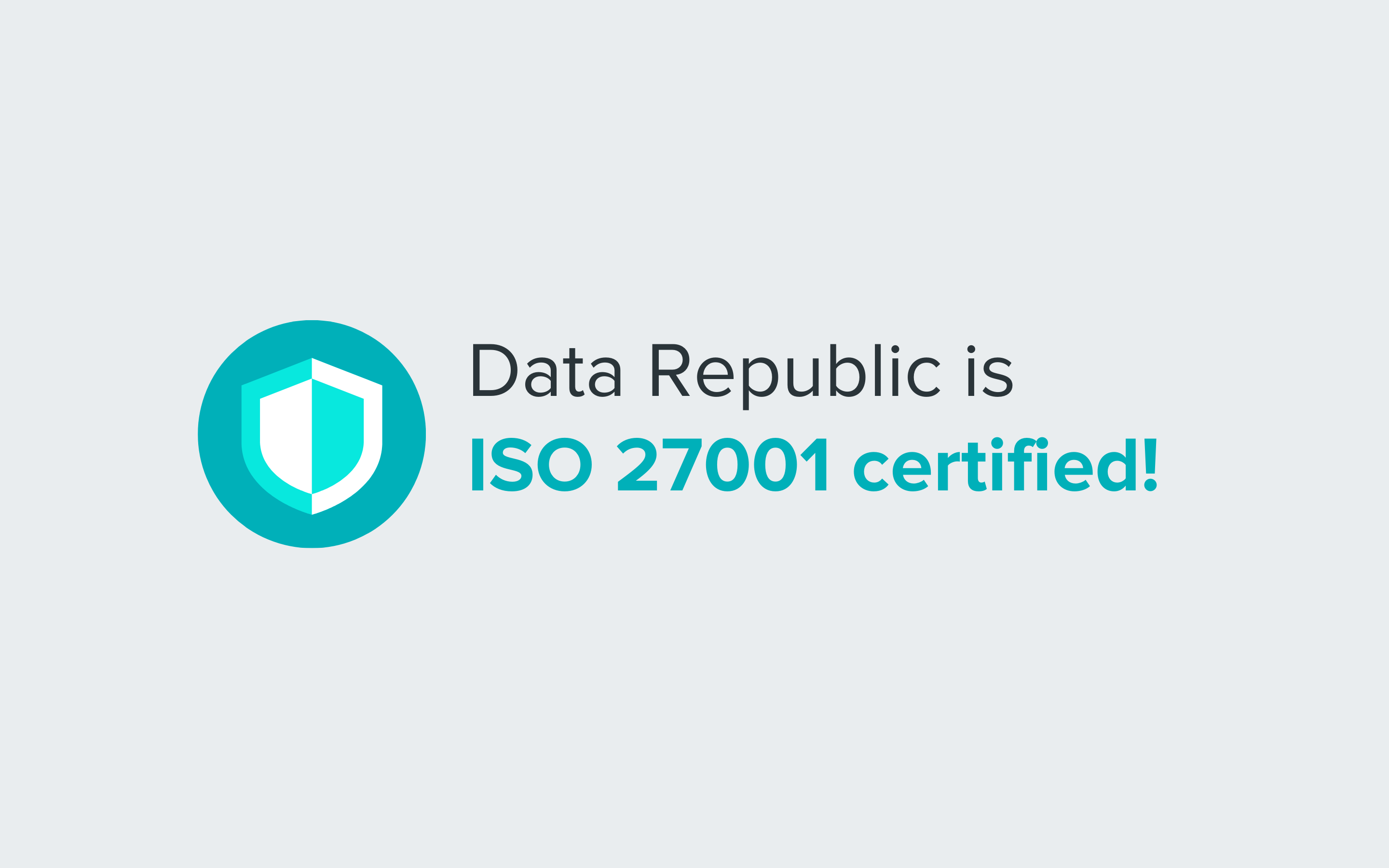 Data Republic ISO 27001-2013